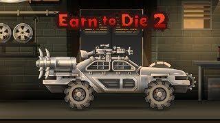 Игры гонки на машинах полицейская машина в броне прохождение Earn To Die 2