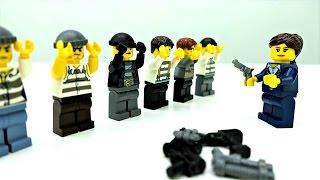 Видео для Детей: ЛЕГО СИТИ Полиция 🚓 Спасаем Президента! #Лего Мультики LEGO CITY