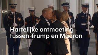 Vriendschap, vrijheid en verbondenheid: Trump en Macron onderstrepen goede band - RTL NIEUWS