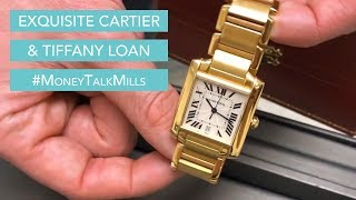 Exquisite Cartier & Tiffany Watch Loan