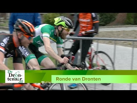 VIDEO | Renners uit Dronten en Biddinghuizen finishen in peloton bij thuiswedstrijd