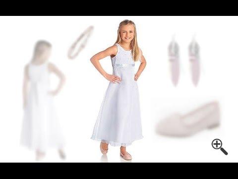 Festliche Kleider für Mädchen Top Outfit Ideen für junge Mädchen wie Laura