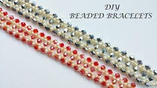 DIY Bracelet. Handmade Beaded Bracelet Tutorial
