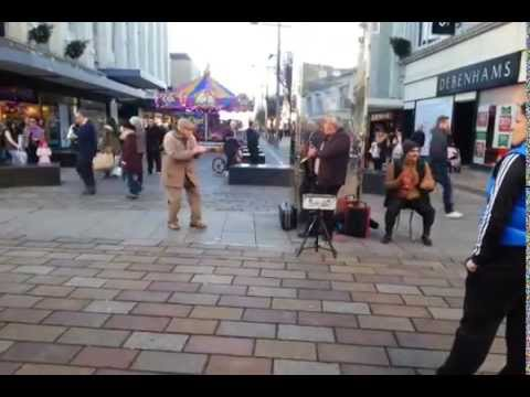 Grandad Dancing in Middlesbrough Town Centre