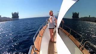 Дайвинг в Акабе с корабля