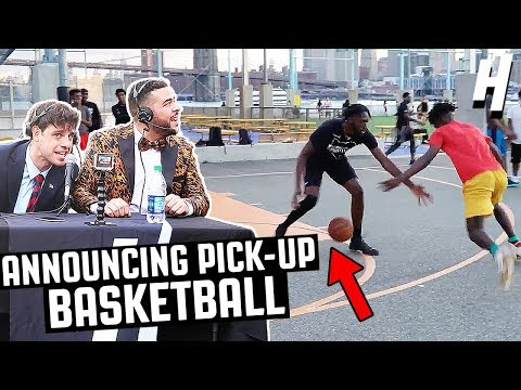 ROASTING PICKUP BASKETBALL PLAYERS NYC PRANK! (видео)