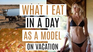 What I Eat In A Day As A Model - Vacation | Balanced Diet, Simple Recipes, & Matcha Recipes | Sanne