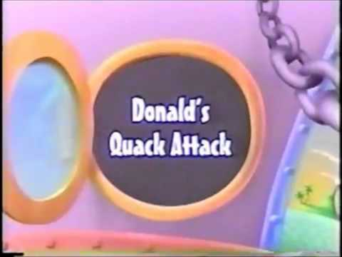 Toon Disney: We'll Be Right Back (Donald's Quack Attack) 1998-2002