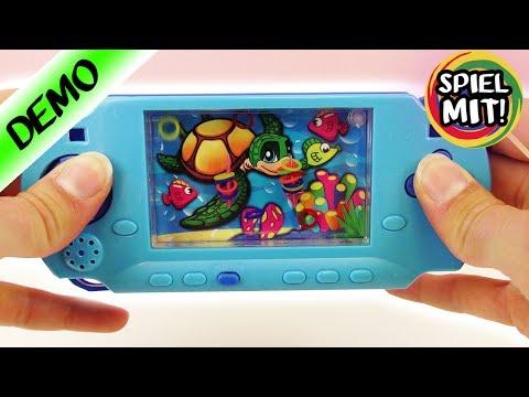 Ist das eine PS Vita? Cooles Wasserspiel für Kinder | Geduldspiel Ring im Wasser | Spiel mit mir