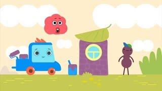 Грузовичок Пик - Муравей-строитель - Развивающие мультики для малышей