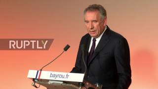 France: Macron campaign receives huge boost after Francois Bayrou declares support