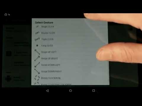 Video of GMD GestureControl ★ root