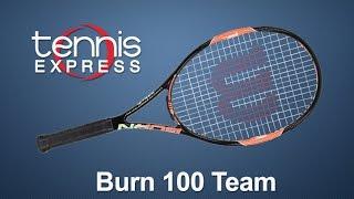 Ρακέτα τέννις Wilson Burn 100 Team video