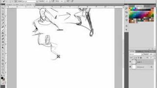 Part 1 - Drawing complex poses - forced perspectives