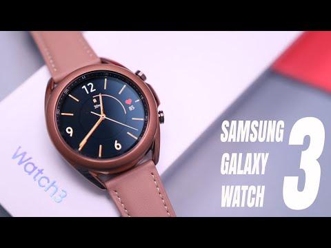 External Review Video zm9kkXx4Pdg for Samsung Galaxy Watch3 Smartwatch