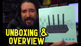 Rock Space AC2100 Dual Band Gigabit Wifi Router Unboxing & Overview