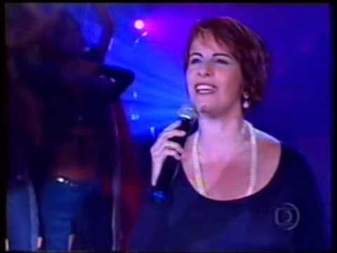 Leila Pinheiro - FELIZ - Gonzaguinha - 2001 - Programa Planeta Xuxa