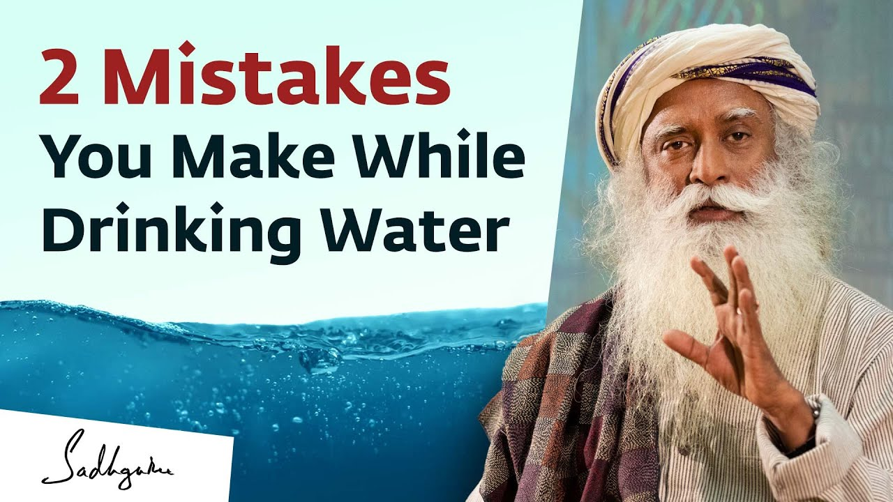 Are You Drinking Water the Right Way?