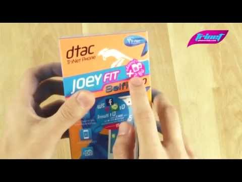 [แกะกล่อง] dtac TriNet Phone Joey Fit Selfie 4.0