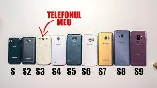 Cum arata 9 ani de Galaxy S ? Colecția mea de telefoane! - Vlog 859