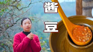 Video : China : Fermented soybeans (GuiZhou style) 貴州傳統風味