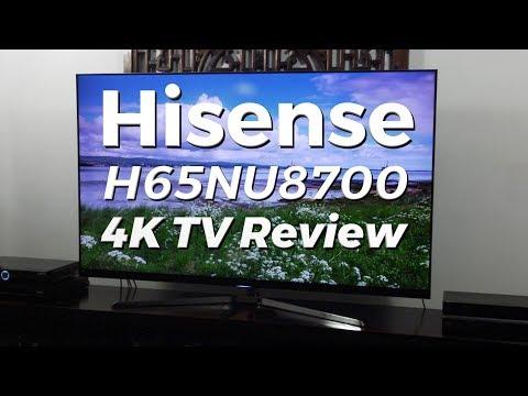 Hisense H65NU8700 4K HDR LCD TV Review