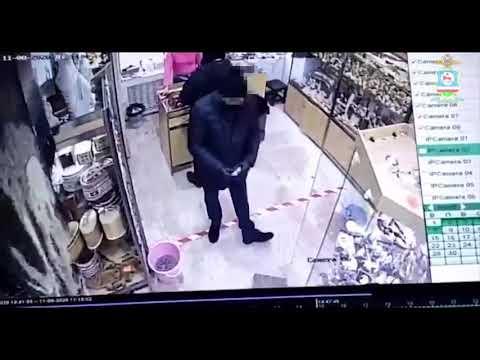Полицейскими установлен подозреваемый в краже якутского ножа стоимостью 65 тысяч рублей (видео)