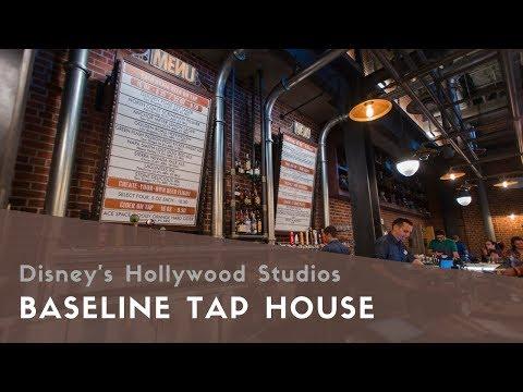 O pub BaseLine Tap House oferece cervejas e vinhos da Califórnia
