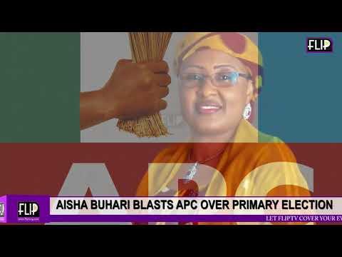 AISHA BUHARI BLASTS APC OVER PRIMARY ELECTION