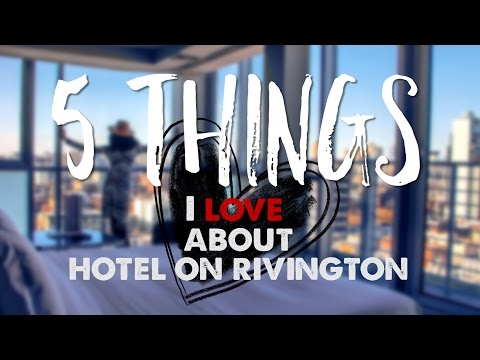 Luxury Hotel Review: Hotel on Rivington – Amazing Views of New York City!