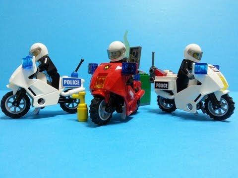 Vidéo LEGO City 60000 : La moto des pompiers