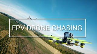 Drone FPV : Jet Funjet & Planeur Easyglider Multiplex | Chasing | Nazgul5 V2 HD