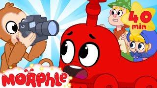 Video Moprhle The TRAIN! - My Magic Pet Morphle   Cartoons For Kids   Morphle TV   Mila & Morphle MP3, 3GP, MP4, WEBM, AVI, FLV Agustus 2019