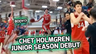"Chet Holmgren CATCHING BODIES In FIRST GAME!? 7'0"" Guard Drops 29 Points & Leads Minnehaha In W! 🔥"
