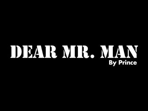 Prince - Dear Mr. Man Lyrics | SongMeanings