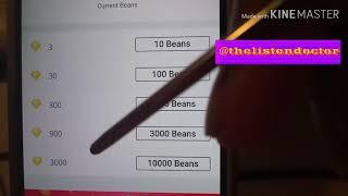 tutorial on how to exchange beans On Bigo Live App