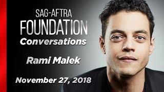 Conversations with Rami Malek