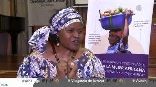 A pediatra Esther Tallah, Premio Harambee 2016 á promoción da muller en África