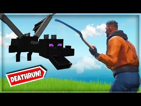 Pokonałem ENDER DRAGON'A w Fortnite (Deathrun)