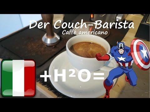 Espresso auf Steroiden: Wie macht man Caffé Americano - Couch-Barista