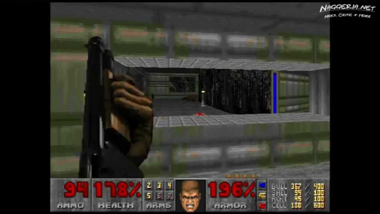 "Doom (E1M7 ""Computer Station"") Walkthrough – Ultra-Violence"