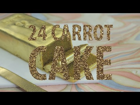 Making This '24 Carrot' Gold Cake Is Pure Alchemy