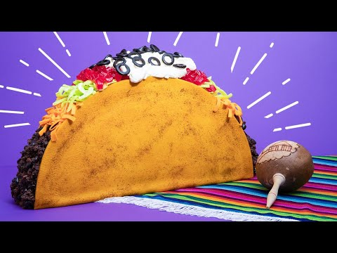 Download Giant Taco CAKE! | How To Cake It HD Mp4 3GP Video and MP3