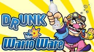 DRUNK WARIO WARE - WarioWare Smooth Moves Gameplay