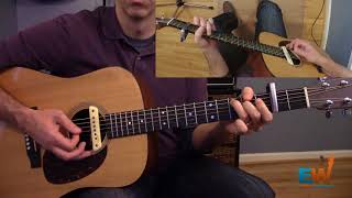 """How to play the intro to """"Comin' Home"""" by City and Colour"""