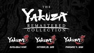 The Yakuza Remastered Collection | Announcement Trailer