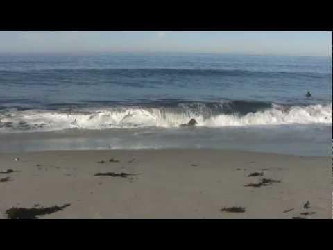♥♥ Relaxing 3 Hour Video of California Ocean Waves