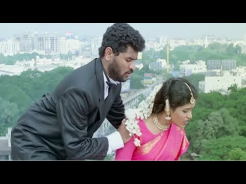 Prabhu Deva rescues a Helpless Girl - Hindi Comedy Scene 7/12 | Arvind Swamy | Sapnay
