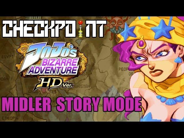 JoJo's Bizarre Adventure HD - Midler Story Mode