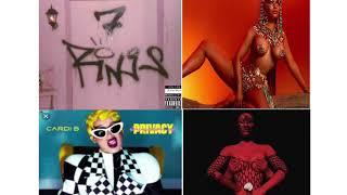 7 Rings  Ariana Grande  Cardi B  Nicki Minaj  Iggy Azalea     Remix